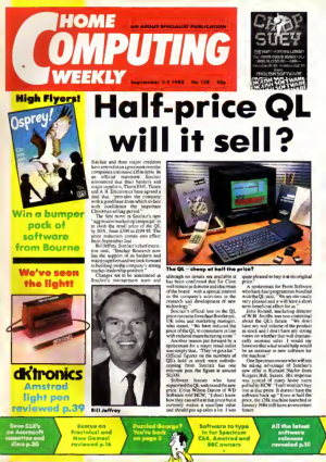 Home Computing Weekly Technology Magazine 128