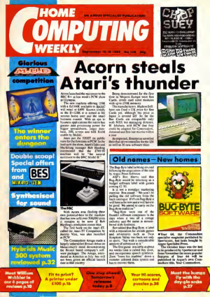 Home Computing Weekly Technology Magazine 129