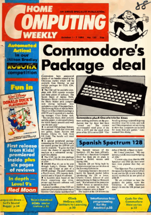 Home Computing Weekly Technology Magazine 132