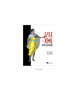 Free Download PDF Books, J2ee And XML Development