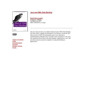 Free Download PDF Books, Java And XML Data Binding