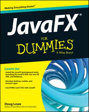 Free Download PDF Books, Javafx For Dummies