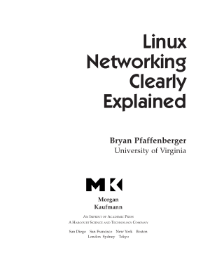 Free Download PDF Books, Linux Networking Clearly Explained