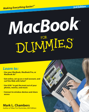 Macbook For Dummies 3rd Edition Book