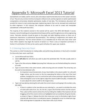Free Download PDF Books, Microsoft Excel 2013 Tutorial