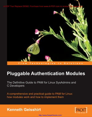 Free Download PDF Books, Pluggable Authentication Modules