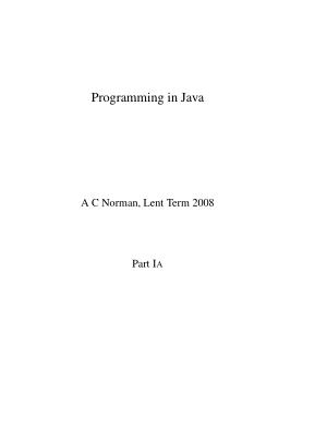 Free Download PDF Books, Programming In Java