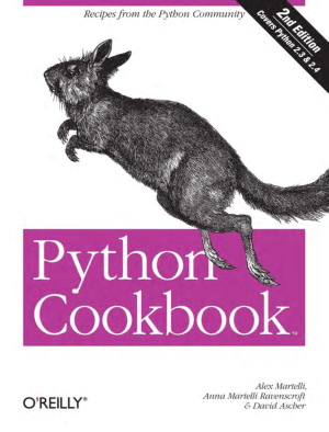 Python Cookbook 2nd Edition Book