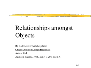 Free Download PDF Books, Relationships Amongst Objects