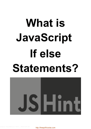 What Is JavaScript If Else Statements