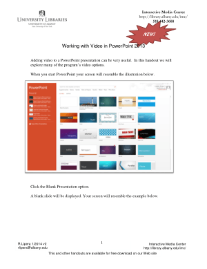 Free Download PDF Books, Working With Video In Powerpoint 2013