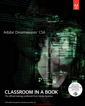 Adobe Dreamweaver CS6 Classroom in a Book, Pdf Free Download