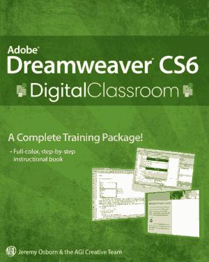 Adobe Dreamweaver CS6 Digital Classroom, Pdf Free Download
