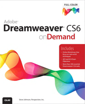 Free Download PDF Books, Adobe Dreamweaver CS6 on Demand