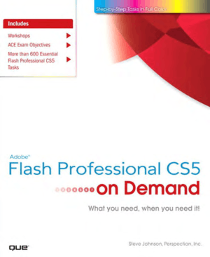 Free Download PDF Books, Adobe Flash Professional CS5 on Demand