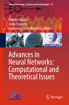 Advances in Neural Networks Computational and Theoretical Issues, Pdf Free Download