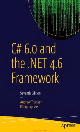 C# 6.0 and the .NET 5 Framework, 7th edition, Pdf Free Download