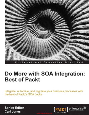 Do more with SOA Integration Best of Packt