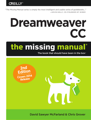 Free Download PDF Books, Dreamweaver CC The Missing Manual, 2nd Edition