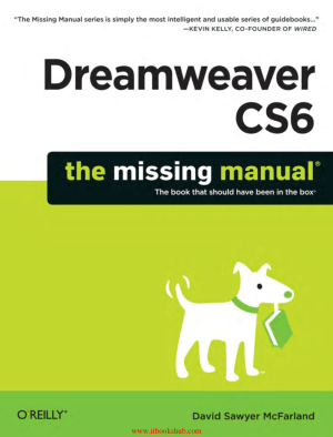 Dreamweaver CS6 The Missing Manual