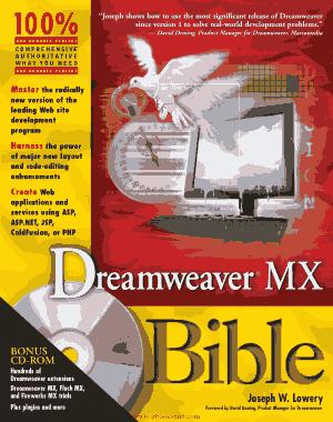 Free Download PDF Books, Dreamweaver Mx Bible