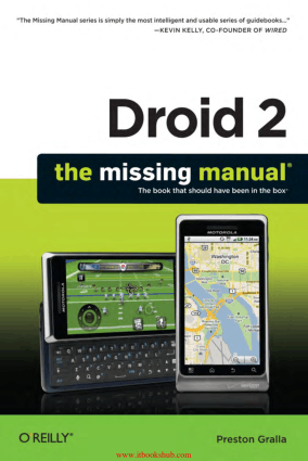 Free Download PDF Books, Droid 2 The Missing Manual