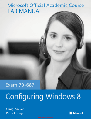 Exam 70-687 Configuring Windows 8 Lab Manual