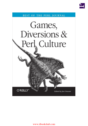 Games, Diversions – Perl Culture