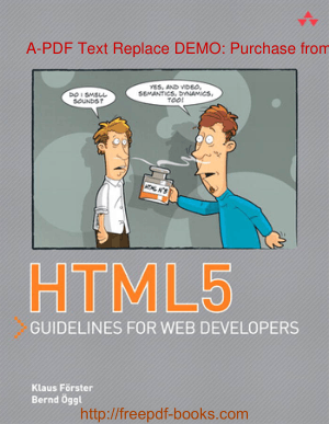 HTML5 Guidelines For Web Developers