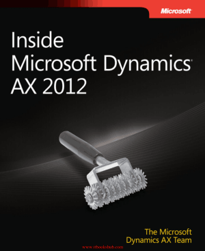 Free Download PDF Books, Inside Microsoft Dynamics AX 2012