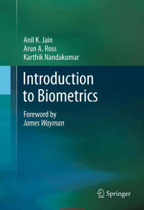 Free Download PDF Books, Introduction to Biometrics