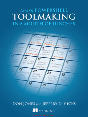 Free Download PDF Books, Learn PowerShell Toolmaking in a Month of Lunches