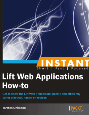 Lift Web Applications How-to