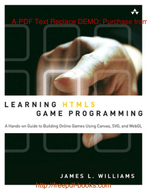 Free Download PDF Books, Learning HTML5 Game Programming