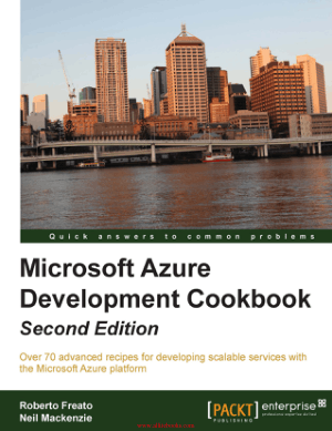 Microsoft Azure Development Cookbook Second Edition