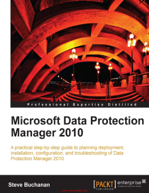 Free Download PDF Books, Microsoft Data Protection Manager 2010