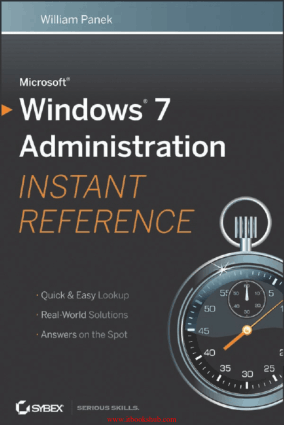Free Download PDF Books, Microsoft Windows 7 Administration Instant Reference