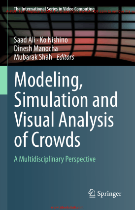 Free Download PDF Books, Modeling, Simulation And Visual Analysis Of Crowds