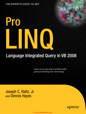 Pro LINQ Language Integrated Query in VB 2008