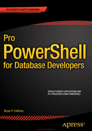 Free Download PDF Books, Pro PowerShell for Database Developers