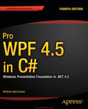 Free Download PDF Books, Pro WPF 4.5 in C# 4th Edition
