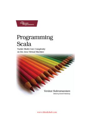 Free Download PDF Books, Programming Scala