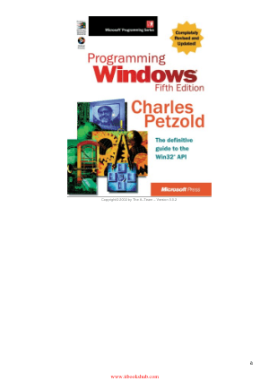 Free Download PDF Books, Programming Windows, 5th Edition