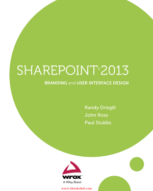 Sharepoint 2013 Branding And User Interface Design Pdf Book Free Pdf Books