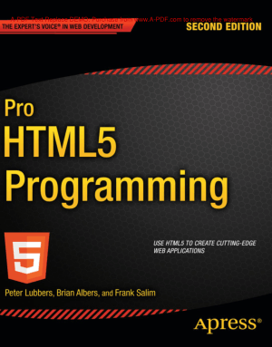 Pro HTML5 Programming 2nd Edition