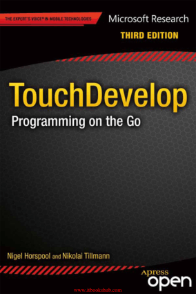 Free Download PDF Books, TouchDevelop, 3rd Edition