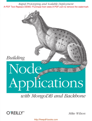 Building Node Applications With Mongodb And Backbone, Pdf Free Download