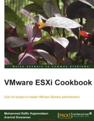 VMware ESXi Cookbook
