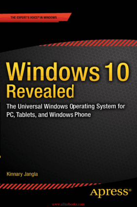Free Download PDF Books, Windows 10 Revealed