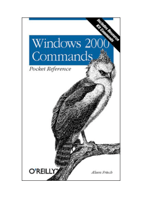 Free Download PDF Books, Windows 2000 Commands Pocket Reference